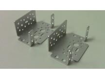 Set of 2 Aluminum Multi-Purpose Servo Bracket